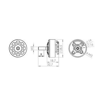 DYS DYS Mars 2400KV Brushless Motor (CW)