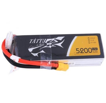 Tattu Tattu 22.2V 5200mAh 6s 15C~30C Lipo Battery Pack with XT60 plug