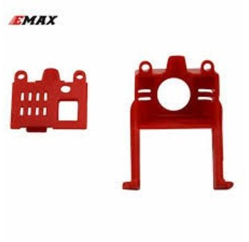 Emax BABYHAWK PARTS - FRONT AND BACK SHELL OF CAMERA SUPPORT Red