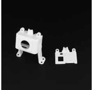 Emax BABYHAWK PARTS - FRONT AND BACK SHELL OF CAMERA SUPPORT White