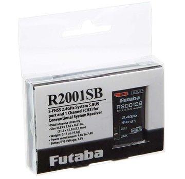 Futaba Futaba 2.4GHz R2001SB SFHSS S.BUS HV Receiver