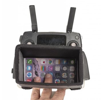 Hoodman Hoodman Drone Aviator hood kit for iPhone 6P/7P / DJI Cyrstal Sky 5.5 / DJI Mavic Pro - HAV6PKIT
