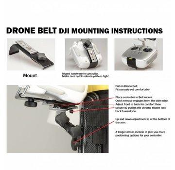Hoodman Hoodman Drone Controller Support Belt w/DJI Mount Kit - HDBDJI