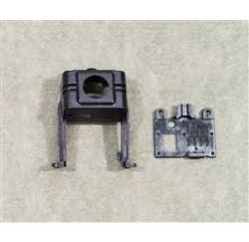 Emax BABYHAWK PARTS - FRONT AND BACK SHELL OF CAMERA SUPPORT Black