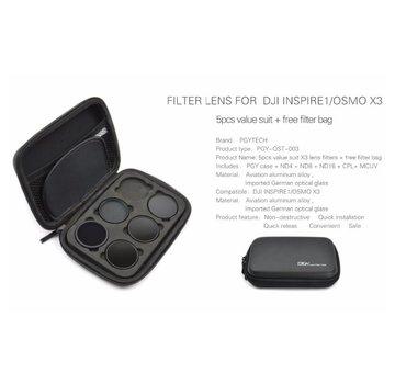 PGYTECH PGYTECH Filter lens case/bag for DJI INSPIRE1/OSMO X3
