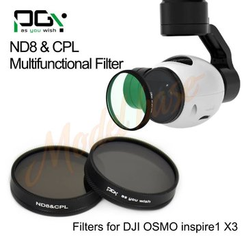 PGYTECH PGYTECH DJI INSPIRE1/OSMO X3 Filterlens(ND8&CPL 2in1 Multi-function)