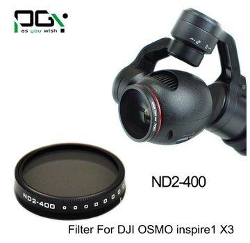 PGYTECH PGYTECH DJI INSPIRE1/OSMO X3  Filter lens(ND2- 400)