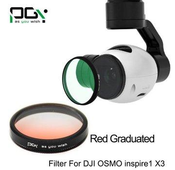PGYTECH PGYTECH DJI INSPIRE1/OSMO X3 Filter lens (gradual color  Red)
