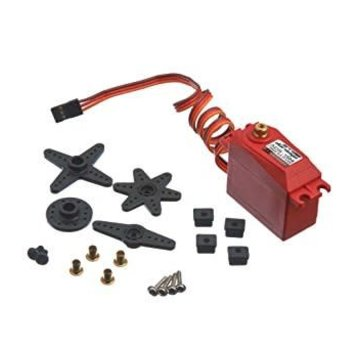 Arrma ARRMA ADS-15M V2 15kg Waterproof Servo Red (AR390139)