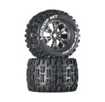 Arrma ARRMA AR550044 dBoots Fortress MT Tire Set Glued Blk (2)