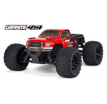 Arrma ARRMA 1/10 Granite 4x4 Mega Monster Truck RTR Red/Black