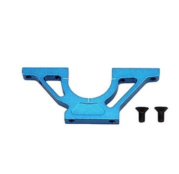 Yokomo Yokomo BD-302B F/R Bulk Head Front Right/Rear Left Blue