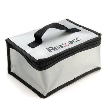 Realacc Realacc Fire Retardant Lipo Battery Bag (220x155x115mm) With Handle