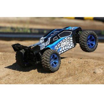 Losi Losi TENACITY AVC RTR, AVC: 1/10 4WD Blue / Black Truggy