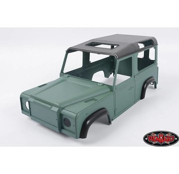 RC4WD Land Rover Defender D90 Ltd Ed Painted Green Body