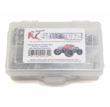 RCScrewz RCScrewz Arrma RC Kraton BLX 1/8th Metal Shielded Bearings (arrm007b)
