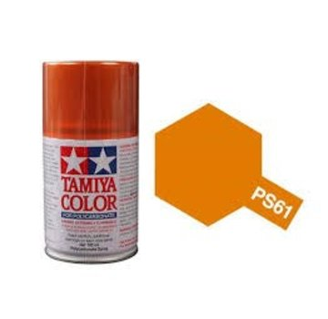 Tamiya Tamiya Polycarbonate Paint , PS-61 Metallic Orange 100ml