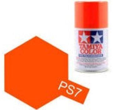 Tamiya Tamiya Polycarbonate Paint  PS-7 Orange