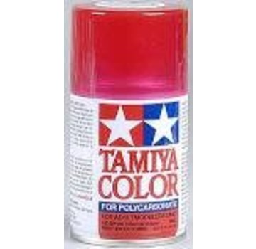 Tamiya Tamiya Polycarbonate Paint  PS-37 Translucent Red