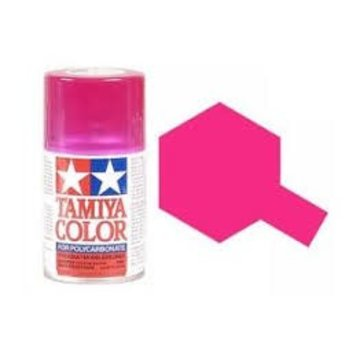 Tamiya Tamiya Polycarbonate Paint PS-40 Translucent Pink, Spray