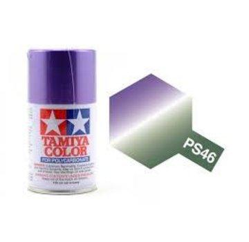 Tamiya Tamiya Polycarbonate Paint PS-46 Purple/Green Iridescent