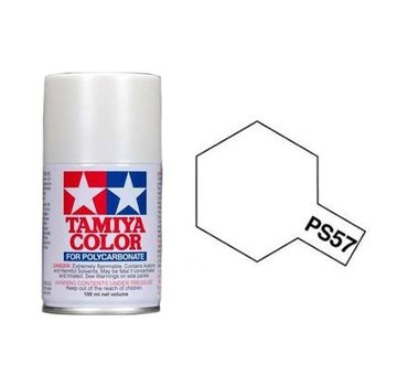 Tamiya Tamiya Polycarbonate Paint PS-57 Pearl White 100ml Spray