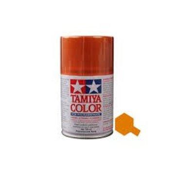 Tamiya Tamiya Polycarbonate Paint PS-62 Pure Orange Spray,  100ml