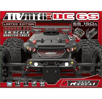 RedCat Racing Redcat Racing - 1/10 Baja Body Blue and Black: Volcano Epx/Epx Pro - 2380