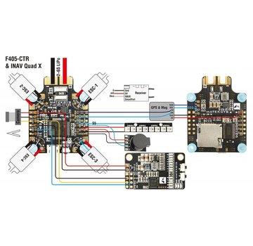 Matek Matek F405-CTR Flight Controller