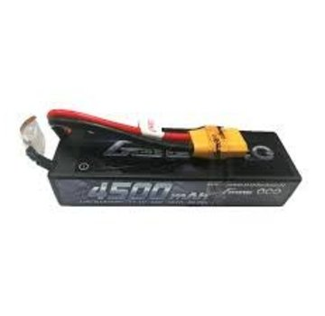 Gens Ace Gens Ace 4500mAh 11.1V 40C 3S1P Low Profile Lipo HardCase Battery 24# with XT-90 plug