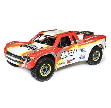 Losi TEAM LOSI SuperBajaRey 1:6 4wd Electric Desert Truck RTR RED