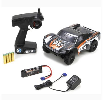 ECX ECX Torment 1:24 4wd Short Course Truck:Blk/Orange RTR