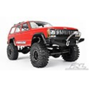 "Pro-Line PRO-LINE 1992 Jeep Cherokee Clear Body for 11.8"" (300mm) Wheelbase Scale Crawlers"