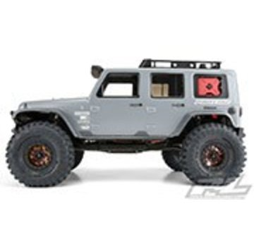 """Pro-Line PRO-LINE Jeep Wrangler Unlimited Clear Body for 12.3"""" (313mm) Wheelbase Scale Crawlers"""