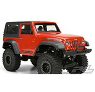 Pro-Line PRO-LINE Jeep Wrangler Rubicon clear body with interior for Mini Crawlers
