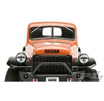 "Pro-Line PRO-LINE 1946 Dodge Power Wagon Clear Body for 12.3"" (313mm) Wheelbase Scale Crawlers"