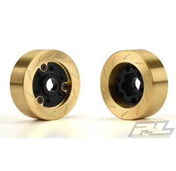 Pro-Line PRO-LINE Brass Brake Rotor Weights for 6 lug 12mm Hex Adapter