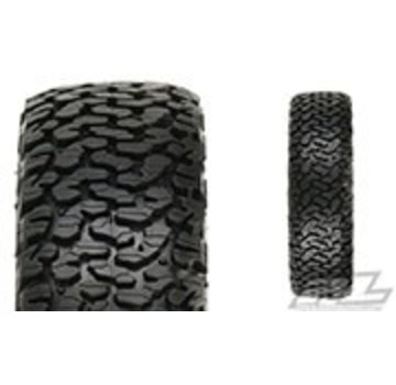 "Pro-Line PRO-LINE Flat Iron 1.9"" XL G8 Rock Terrain Truck Tires w/Memory Foam for Front or Rear"