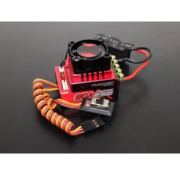 TrackStar Trackstar 80A Turbo Sensored Brushless 1/12th 1/10th ESC (ROAR approved)
