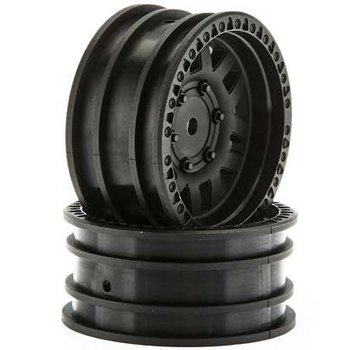 Pro-Line Axial 1.9 Wheels KMC XD Machete Crawl Black (2) AX31587