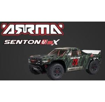 Arrma ARRMA 1/10 SENTON 6S 4WD SC 1/10 BLX