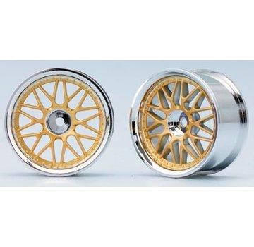 Yokomo YOKOMO 10 Mesh Wheel Gold (TW-1313GL)VRC-TW-1313GL