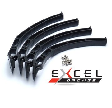 ExcelRC High Landing Gear For SK480 F450 F550 A450 Q450 A450 Quadrocopter
