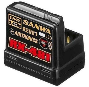 Sanwa Sanwa 4­channel RX­481 Receiver w/ built­in Antenna