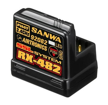 Sanwa Sanwa 4­channel RX­482 Telemetry Receiver w/ built­in Antenna