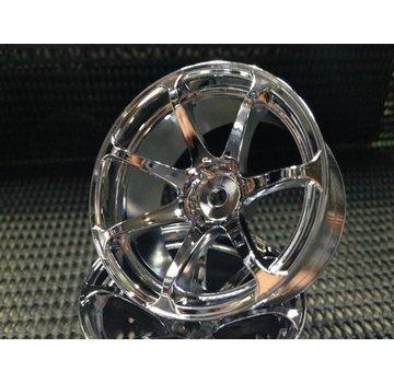 Mikuni MIKUNI FACTORY DW-1229CS AVS MODEL T7 Chrome Silver 9mm
