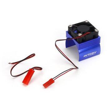 Integy INTEGY Super Brushless Motor Heatsink / Fan, 540, Blue (HOR-INTC23140BL)