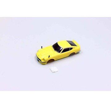 Kyosho - Route 246 Kyosho R246 Mini-Z MR03N RM Nissan Fairlady 240Z-L Yellow Body R246-1125