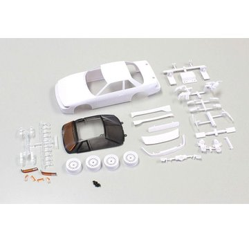 Kyosho Kyosho (MZN178) NISSAN SILVIA S13 White body set(w/Wheel)