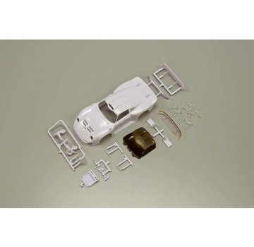Kyosho Kyosho Mini-Z MR03W RM Porsche 911 GT1 LM White Body Set MZN103